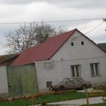Pokládka střešní krytiny duben 2012